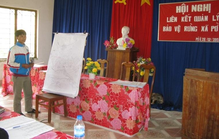 A Ky - Party secretary of the Vi K Lang 2 village