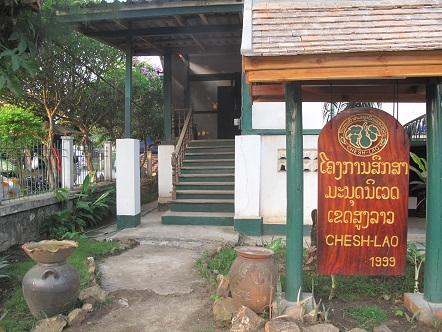 CHESH Lao office in Luang Prabang