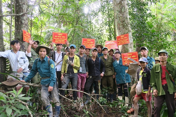 Conflict resolutions in land allocation process - The case of the Ka Dong ethnic group in Dak Nen commune, Kon Plong district, Kon Tum province, Vietnam