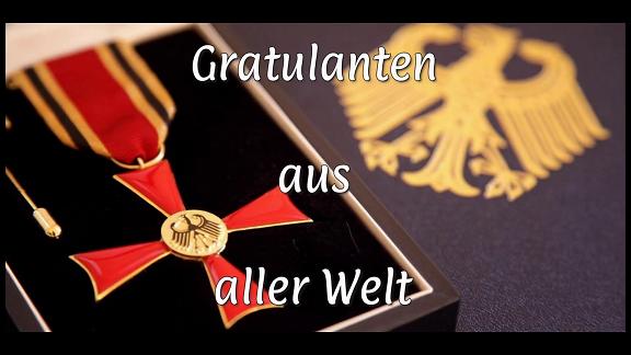 Mr Claus Peter Hutter Congratulations