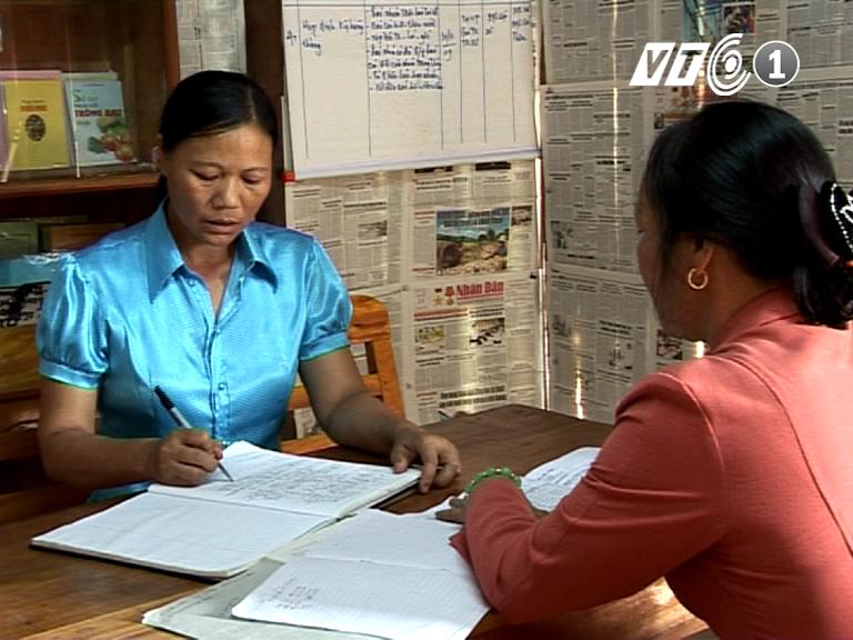 Người phụ nữ và những cơ hội cho người nghèo ở xã Kim Hóa