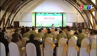 Hội thảo xây dựng Nông thôn mới gắn với Luật Lâm nghiệp