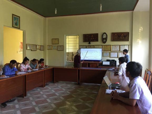 Trình bày sơ thảo các phát hiện của nghiên cứu rà soát thực trạng làng Violak